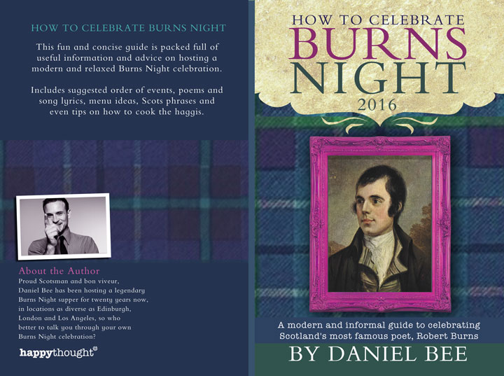How to celebrate Burns night book 2016
