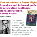 Burns Night celebration!