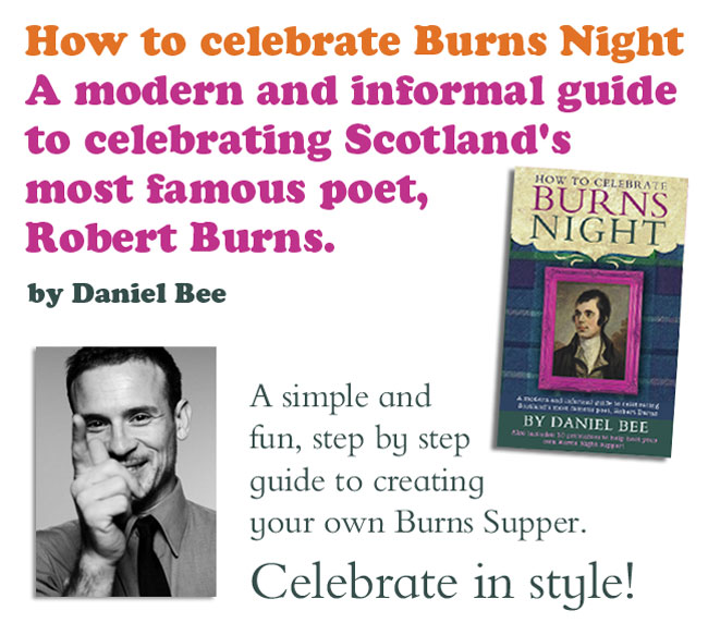 Burns Night guide book with Daniel Bee